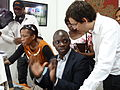 Opening of the Espace WikiAfrica in Douala 18.JPG