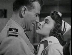 Patricia Neal - John Wayne and Patricia Neal in Operation Pacific (1950)