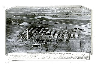 Oppau explosion 1921 industrial disaster in the Weimar Republic