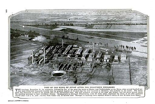 Oppau Explosion 1921