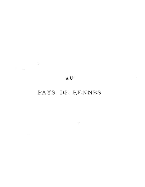 File:Orain - Au pays de Rennes.djvu