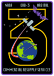 Orbital Sciences CRS Flight 3 Patch.png