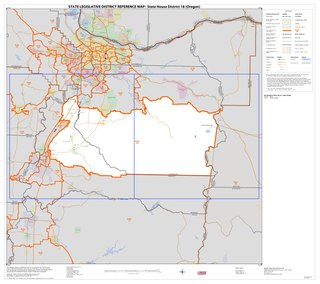 Oregons 18th House district Legislative districts in the state of Oregon