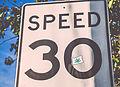 Oregon Marijuana - Measure 91 Sticker Speed Limit Graffiti (17975923898).jpg