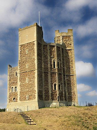 Orford Castle - The keep of Orford Castle