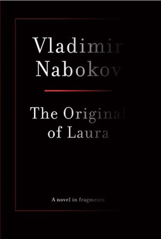 The Original of Laura - First edition cover (faded text intentional)