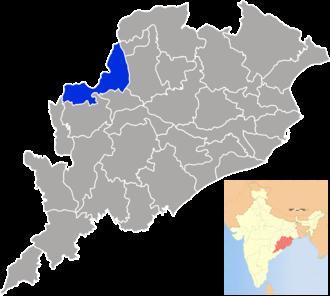 Bargarh district - Image: Orissa Bargarh