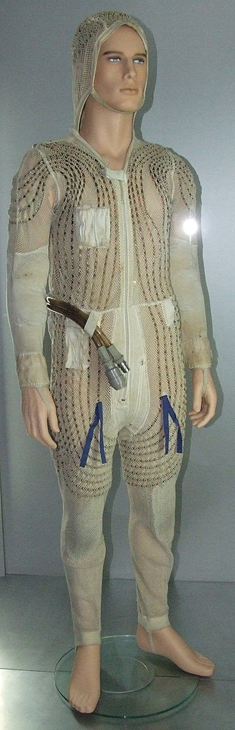 Liquid Cooling and Ventilation Garment - Image: Orlan cooling suit