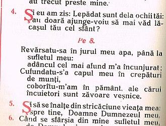 Cedilla - Orologhion, Blaj, 1934, detail of page 502, showing Ş.