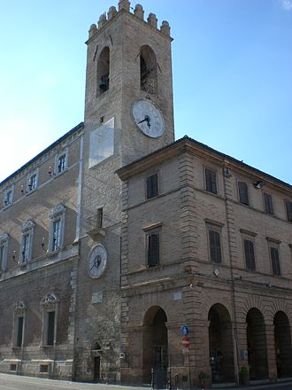 Osimo - Belfry and city hall
