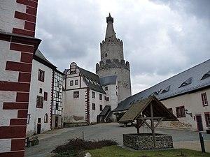 Osterburg (Weida) - Image: Osterburg Weida 5