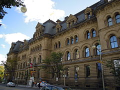 View of the Langevin Block from Wellington Street