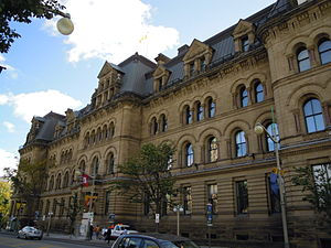 Office of the Prime Minister and Privy Council - The Office of the Prime Minister and Privy Council in 2010, when known as the Langevin Block