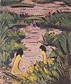 Otto Mueller - Badende im Schilfgraben - ca1924.jpeg