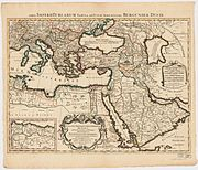 Ottoman Empire 1696 by Jaillot