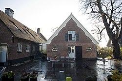 Overzicht van de achtergevel - Zoeterwoude-dorp - 20426157 - RCE.jpg