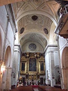 Oviedo - Sta María la Real de la Corte -  Interior.jpg