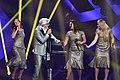 Owe Thörnqvist 14 & Choir 09 @ Melodifestivalen 2017 - Jonatan Svensson Glad.jpg
