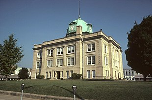 Owen County courthouse in Spencer