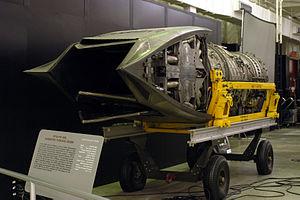 Pratt & Whitney F119 - YF119-PW-100L thrust vectoring nozzle