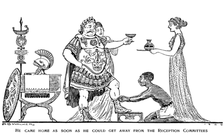 P813a, Harper's Magazine 1909--Why Duillius dined at home.png