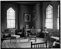 PARLOR AT SOUTH CORNER OF STRUCTURE, FIRST FLOOR - Olana, State Route 9G, Hudson, Columbia County, NY HABS NY,11-HUD,1-15.tif