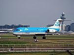 PH-KZT KLM Cityhopper Fokker F70 - cn 11541 taxiing, 25august2013.JPG