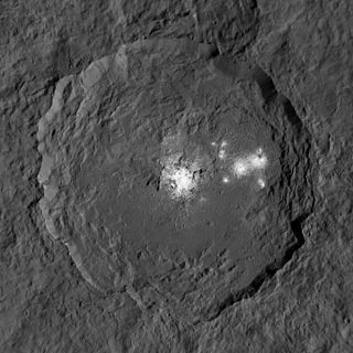Occator (crater) impact crater on Ceres