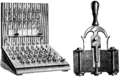 PSM V70 D238 Snell telephone switchboard and contact jack.png