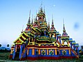 Pa-Auk Village Burmese Buddhist Monks Funeral Temporary Building Side.jpg
