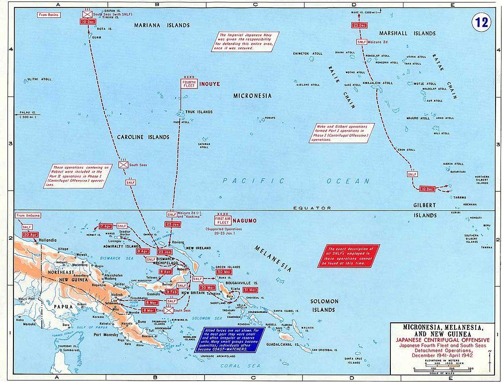 Gilbert Islands Map Pacific