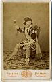 Paganori, Vincenzo (attivo 1860-1900) - Un attore - 1875 (datata sul retro).jpg
