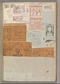 Page from a Scrapbook containing Drawings and Several Prints of Architecture, Interiors, Furniture and Other Objects MET DP372059.jpg