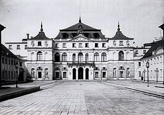 Ministry of Foreign Affairs (Poland) - During the inter-war period the Ministry of Foreign Affairs was housed in the rococo Brühl Palace in central Warsaw