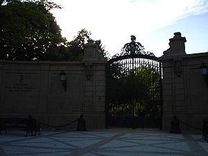 Royal Andalusian School of Equestrian Art - Main entrance of the Palacio Duque de Abrantes