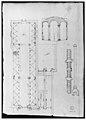 Palazzo Salviati-Adimari elevations (recto) Villa Farnesina stables, plan and section; drawing of a screw (verso) MET sf49 92 44v-MM30695.jpg