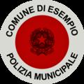 Paletta segnaletica della polizia municipale.png