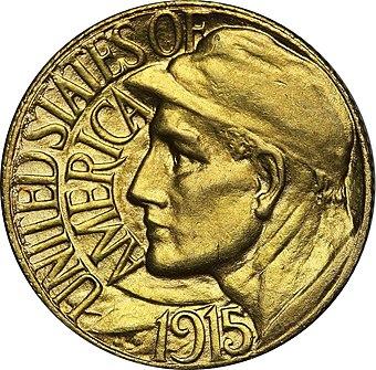 美術家の歴史家Cornelius Vermeuleは、パナマ・パシフィック・ゴールド・ドルはルイジアナ購入展覧会の問題よりも美しいと考えました。