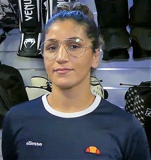 Pannie Kianzad Swedish MMA fighter