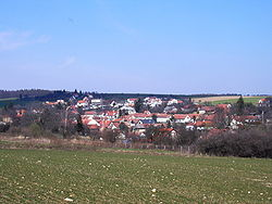 Skyline of Ježkovice