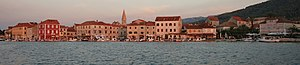 Stari Grad, Croatia - Panoramic view of Stari Grad, seen from the bay
