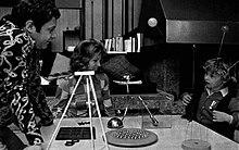 Paolo Villaggio con la moglie Maura e il piccolo Pierfrancesco