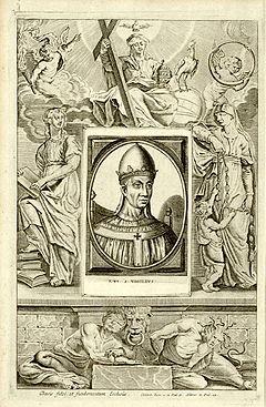 Immagine di papa Vigilio