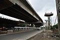 Parama-Park Circus Flyover Under Construction - John Burdon Sanderson Haldane Avenue - Kolkata 2012-07-31 0518.JPG