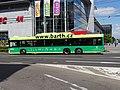 Pardubice, Palackého třída u Masarykova náměstí, trolejbus 401.jpg