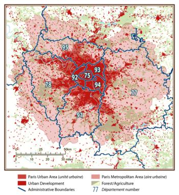 Paris Metropolitan Area Wikipedia