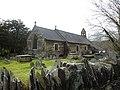 Parish church of Church of St Bridget at Llansantffraid Glyn Dyfrdwy (later re-named Carrog), Sr Ddinbych, Wales 07.jpg