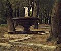 Paul Franz Flickel Brunnen im Park der Villa Borghese in Rom 1878.jpg