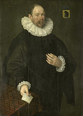 Portrait of Paulus Cornelisz van Beresteyn, Burgomaster of Delft