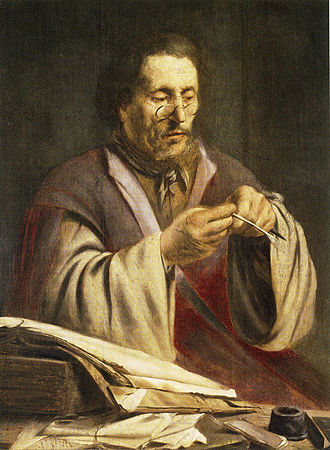 Alfred Bader - The Quill Cutter, Paulus Lesire, ca.1628-9